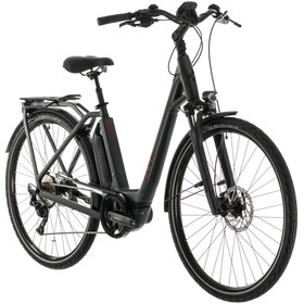 Cube Town Sport Hybrid Pro 500 Easy Entry iridium'n'red